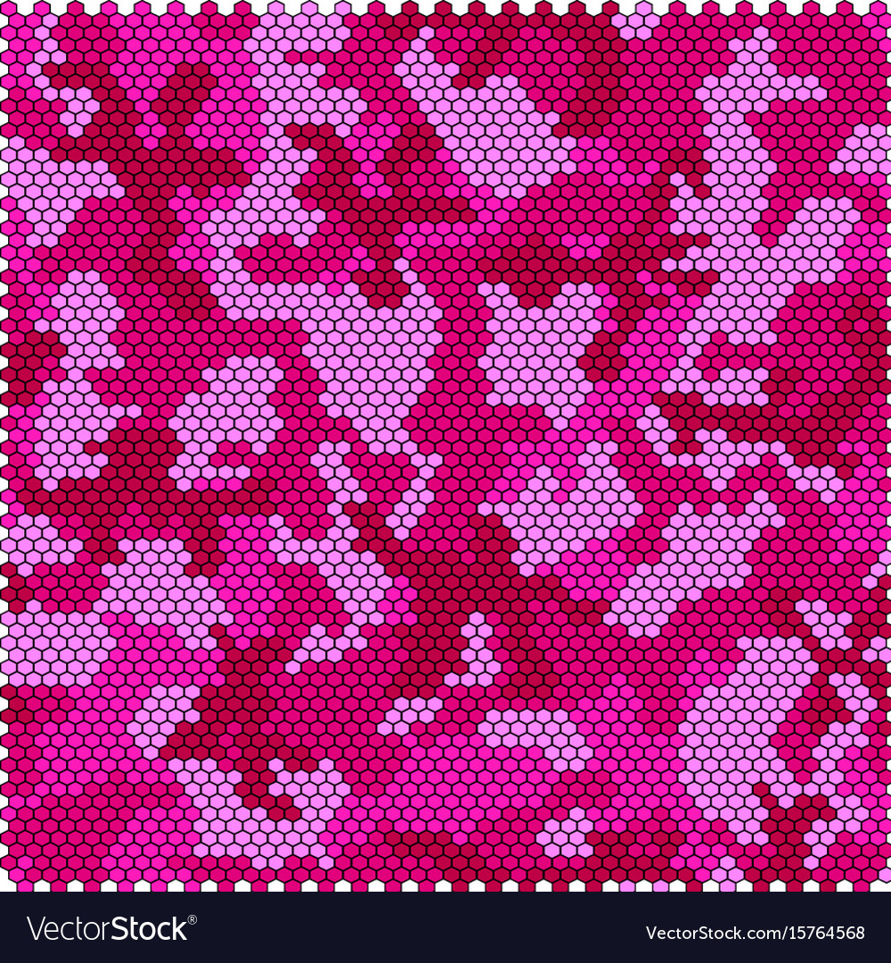 Camouflage pixel seamless vector image