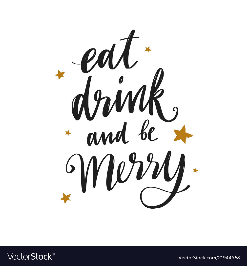 Christmas and new year lettering phrase