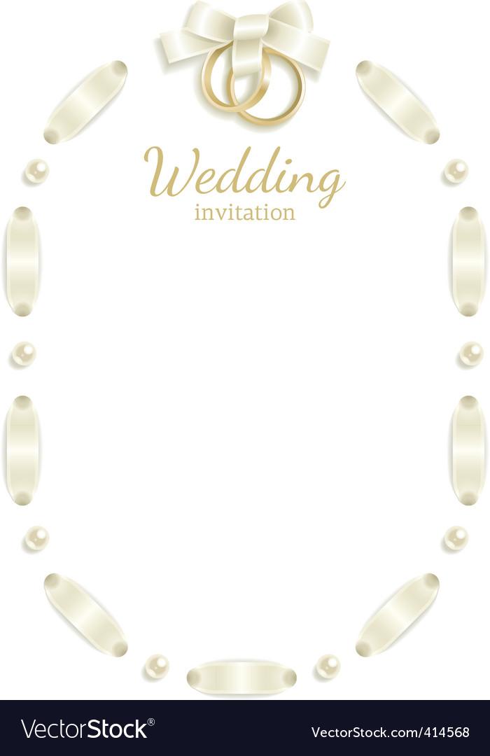 wedding frame royalty free vector image vectorstock