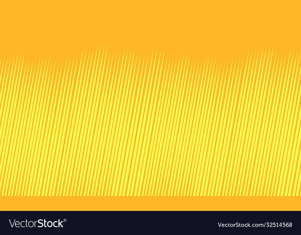 Yellow background with strokes
