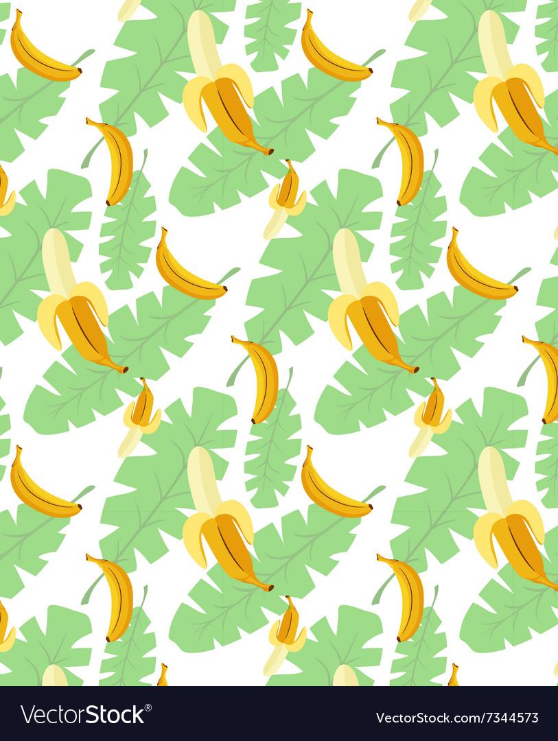 Bananas pattern transparent background