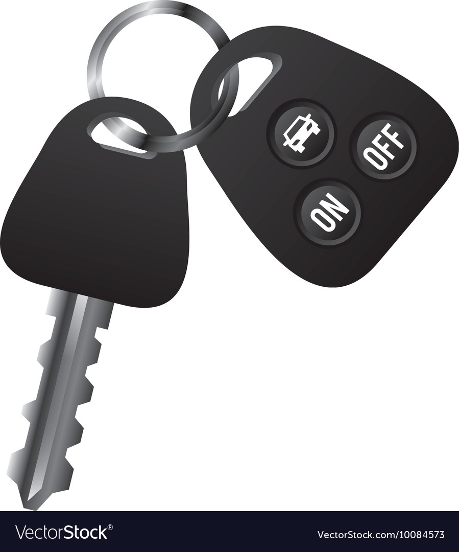 Car vehicle keys icon