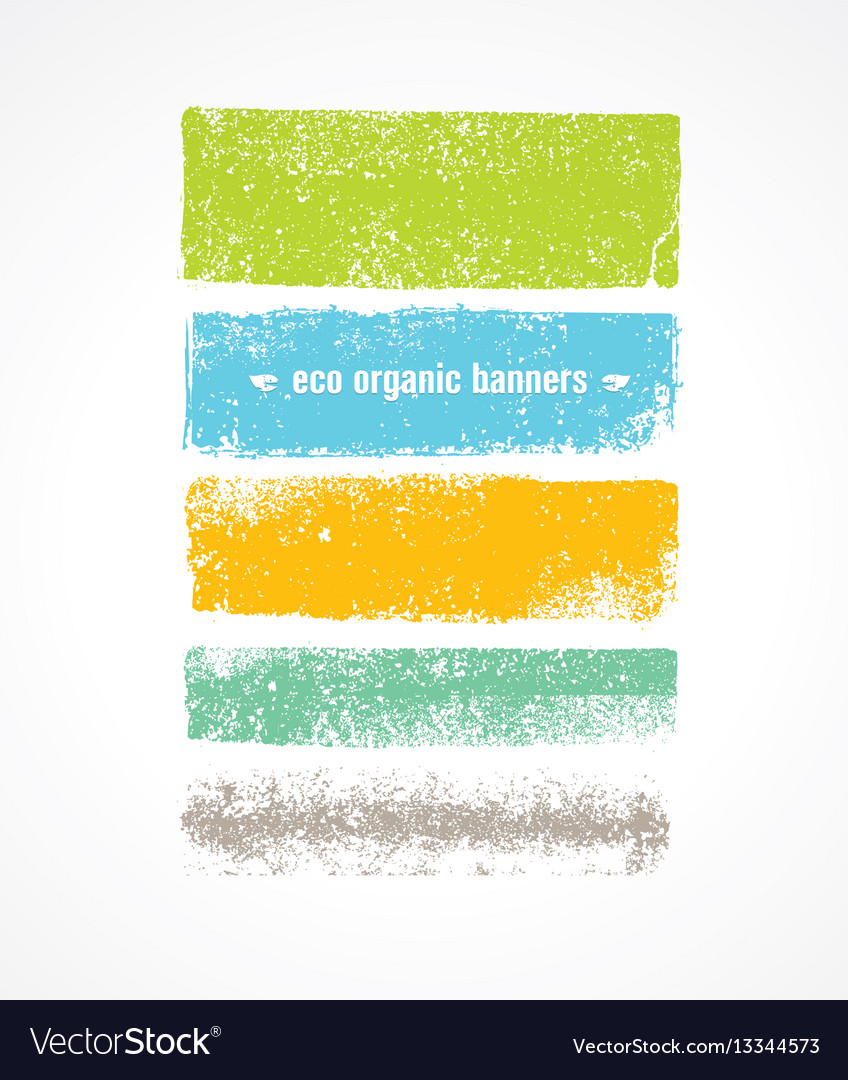 Eco grunge organic banner backgrounds rough