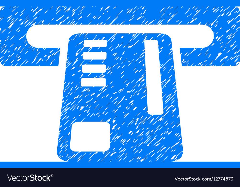 Ticket Machine Grainy Texture Icon