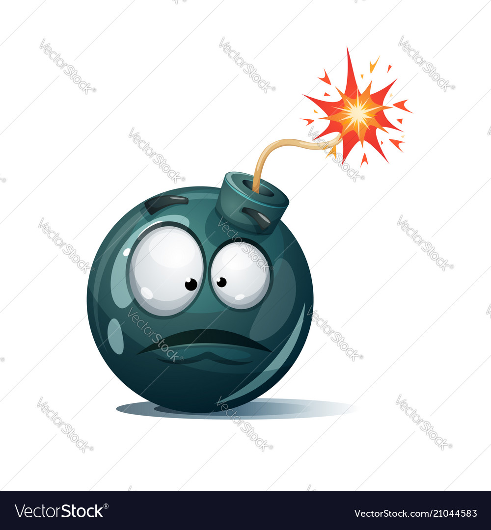 Bomb Fuse Animation Trusted Wiring Diagrams Box Cartoon Wick Spark Icon Surprise Vector Image Rh Vectorstock Com Being Lit