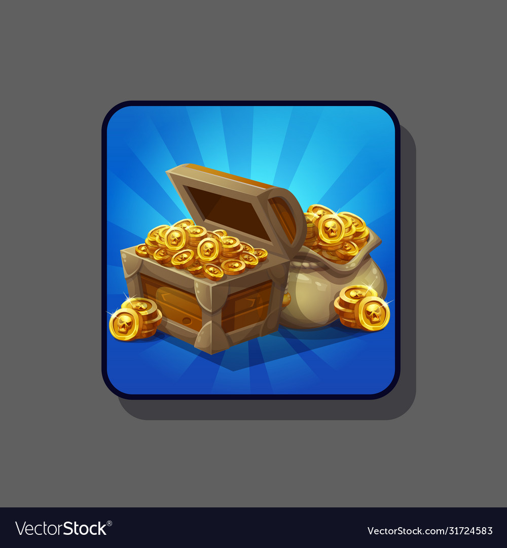 Image an open wooden chest