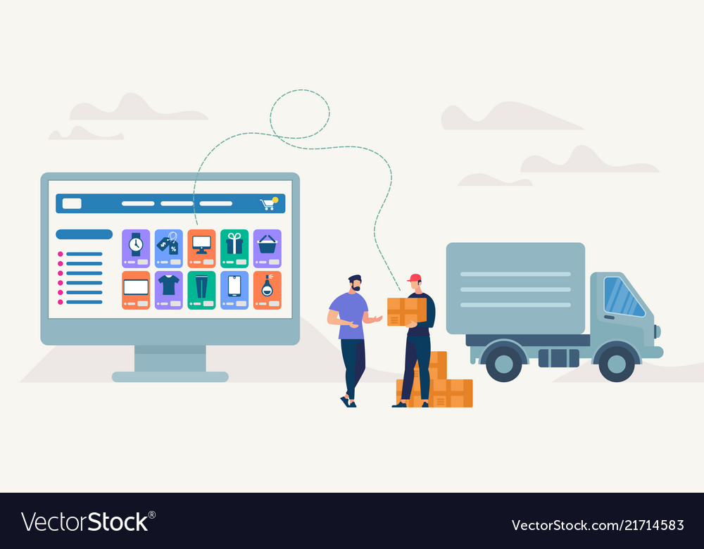 On-line shopping and delivery
