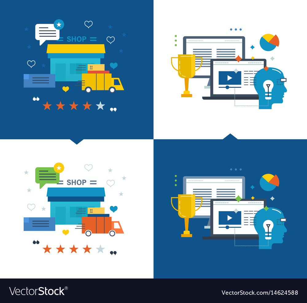 Learning success in education shop purchase vector image