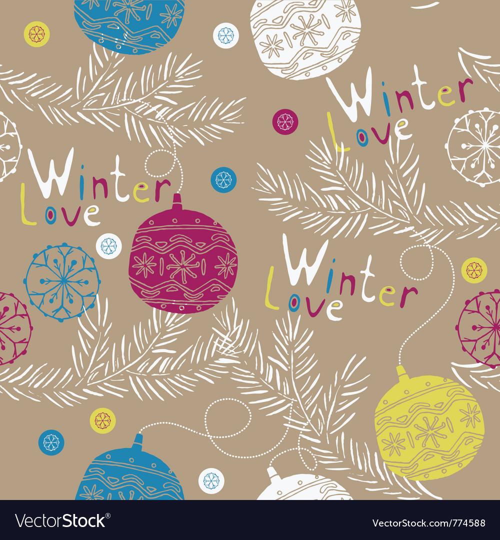 Winter love wallpaper