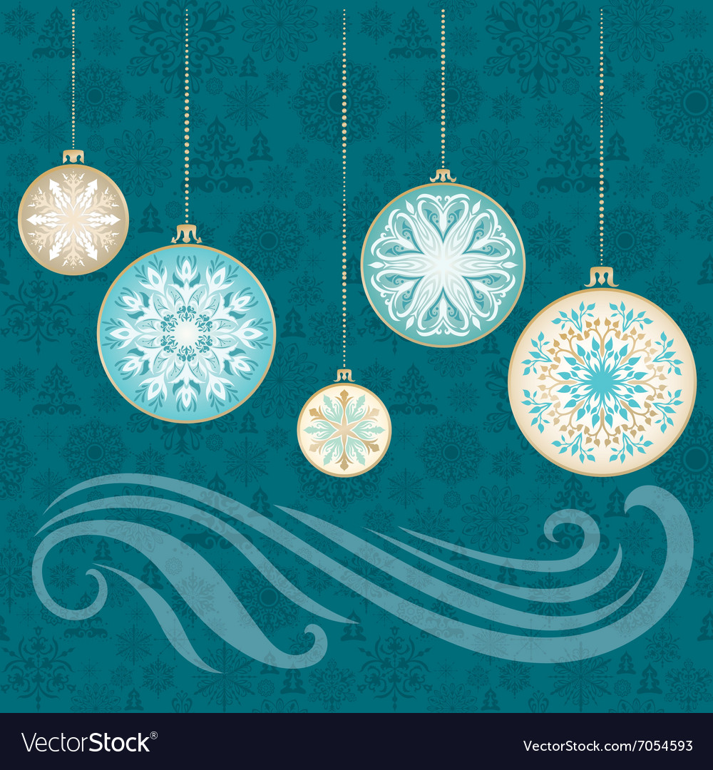 New Year Snowflake Card