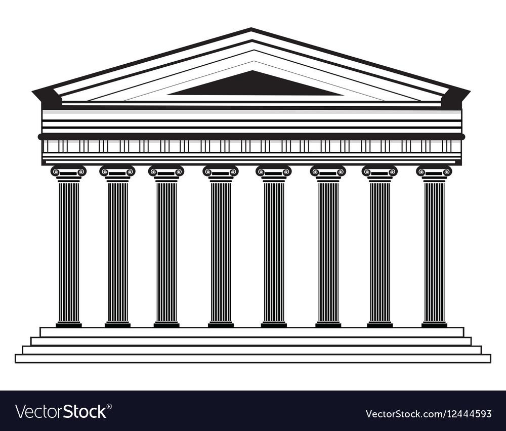Roman Greek Pantheon temple
