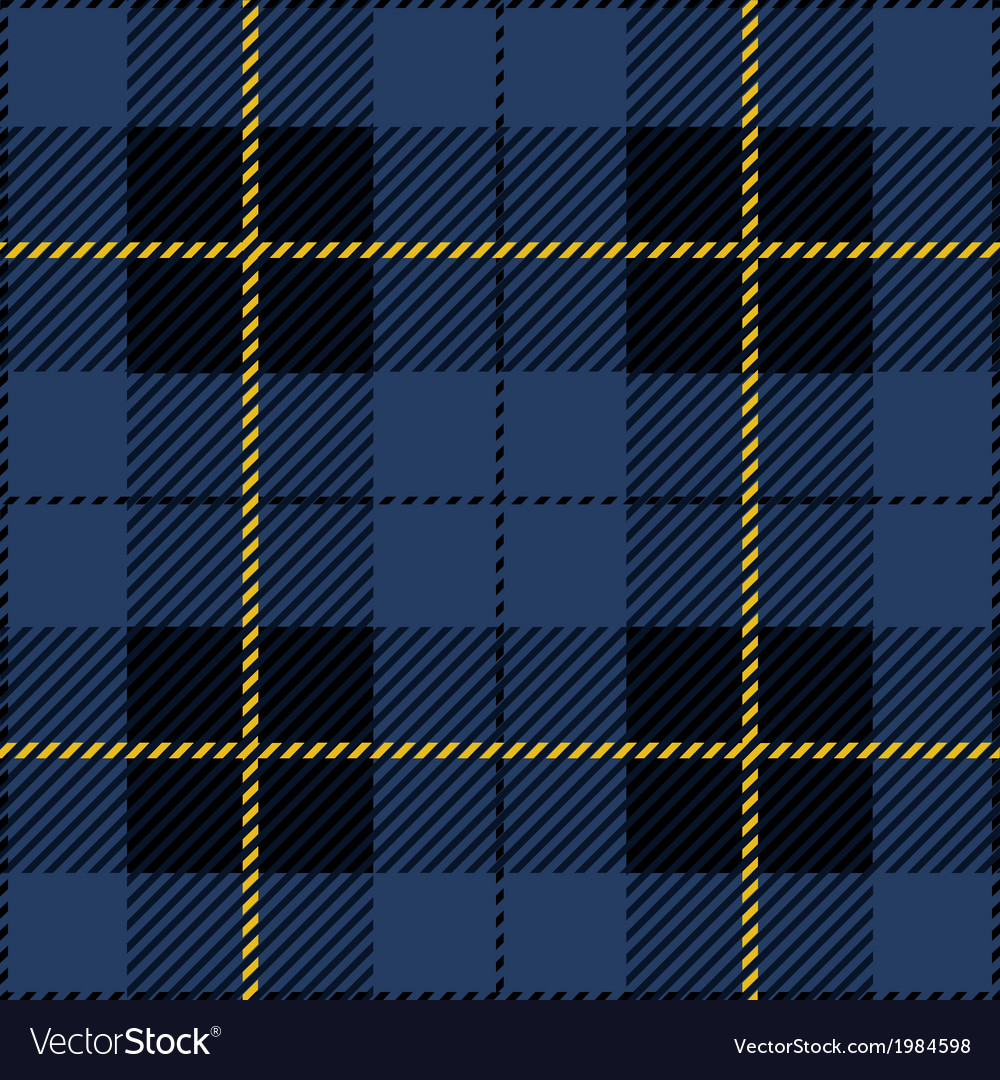 Blue Tartan Plaid Design