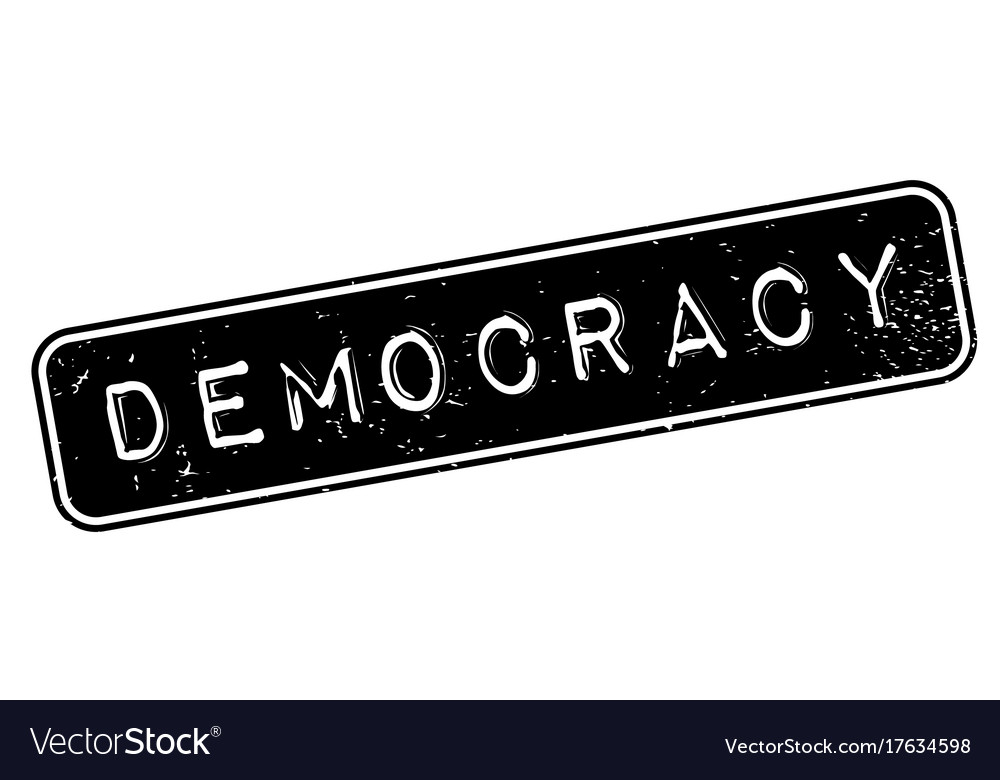 Democracy rubber stamp