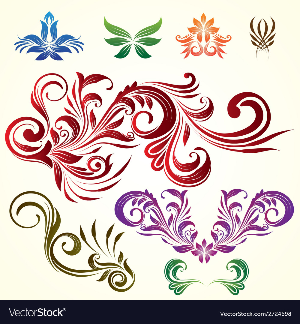 Floral Ornamental Elements