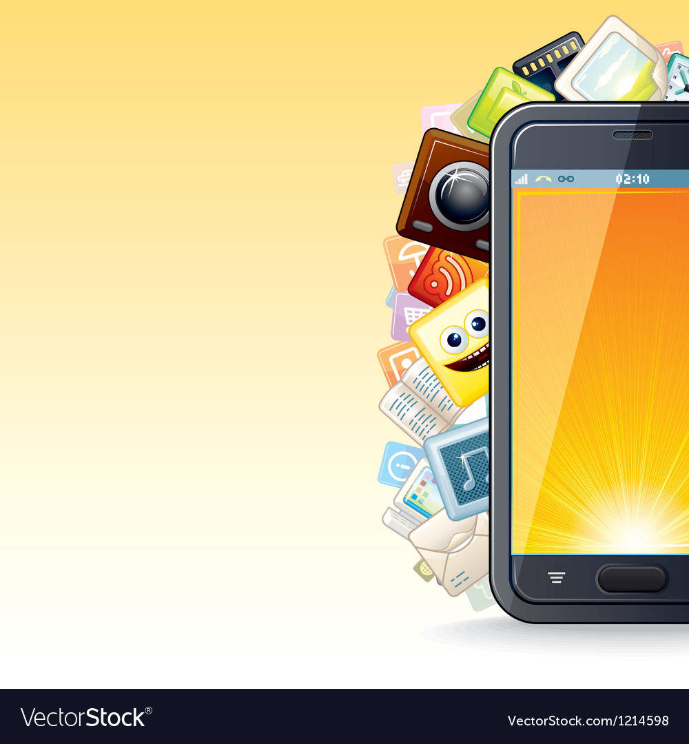 Smart Phone Apps Poster
