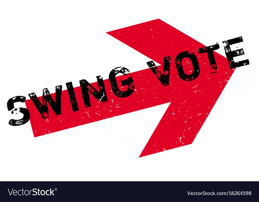 Swing vote stock illustration. Illustration of rubber 88099365.