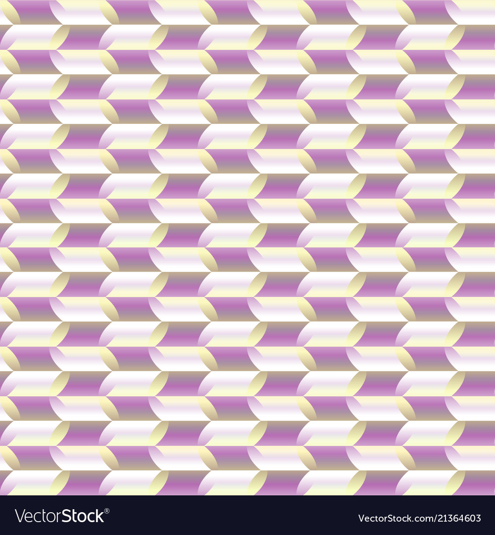 Stylized leavesmosaic geometric seamless pattern
