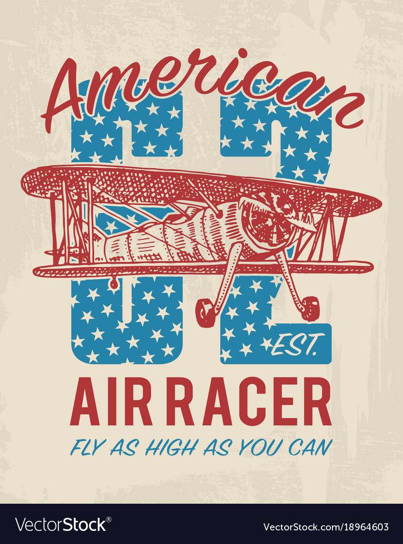 Tee print passenger airplane or transport t-shirt