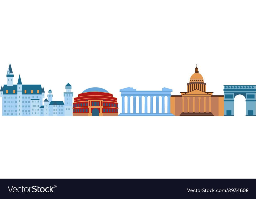 Famous Europe places
