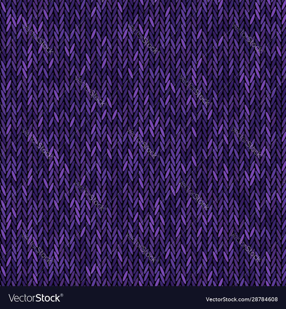 Knit texture melange purple color seamless