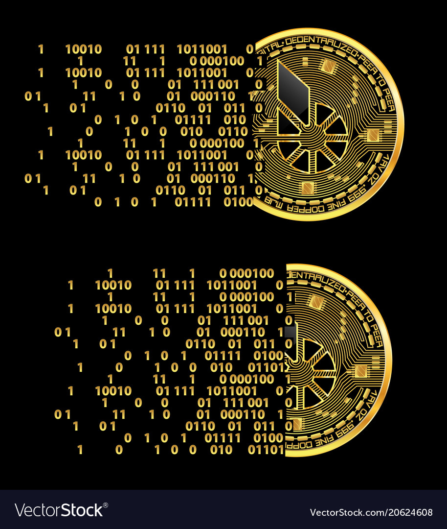 Set of crypto currency bitshares golden symbols
