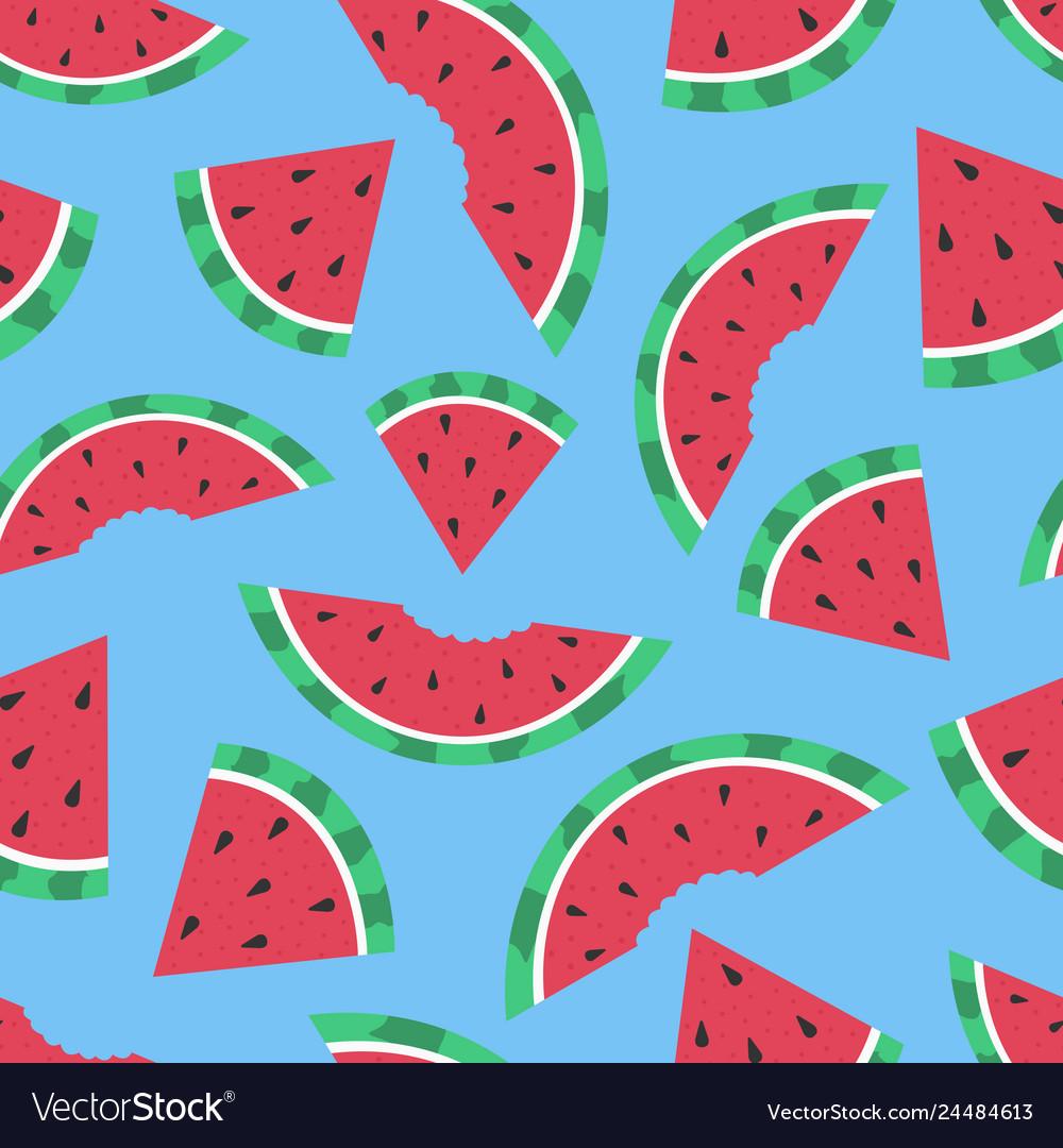 Cartoon seamless pattern summer background