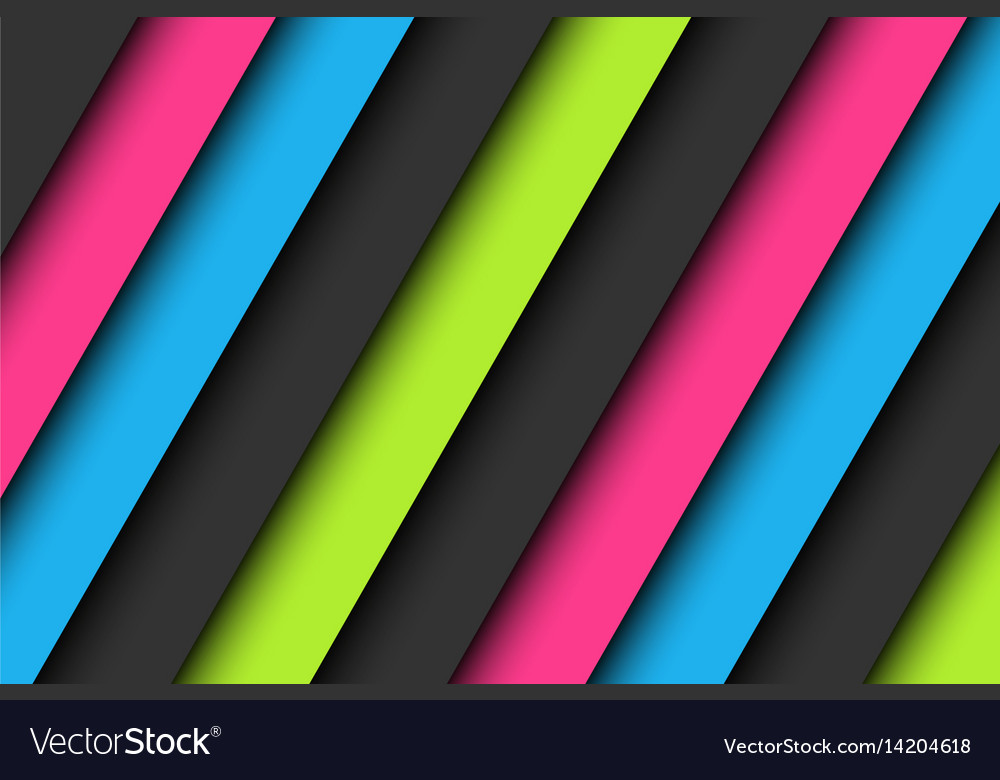 Abstract Background In Neon Colors Wallpaper Vector Image