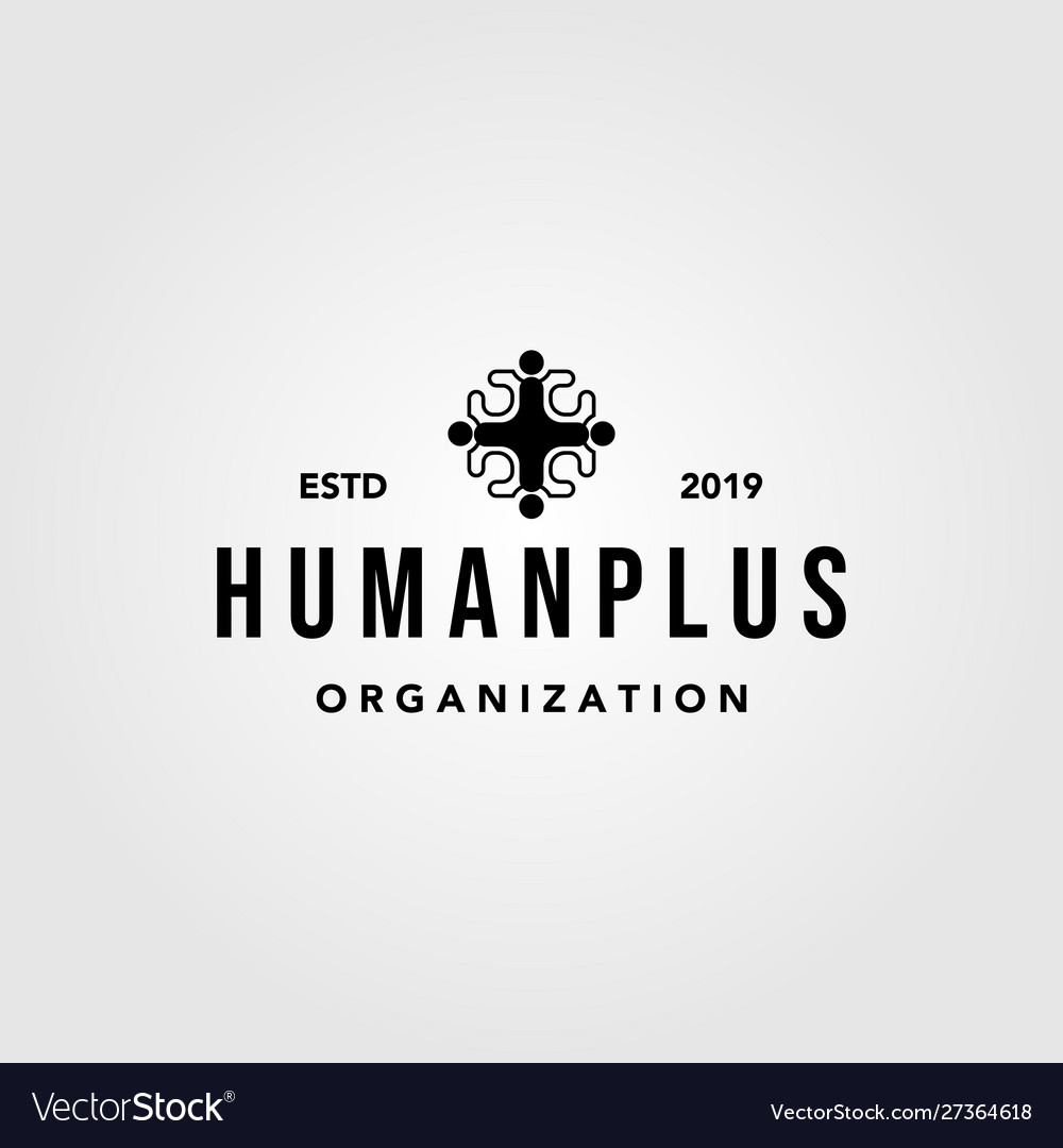 Human people plus family health care group logo