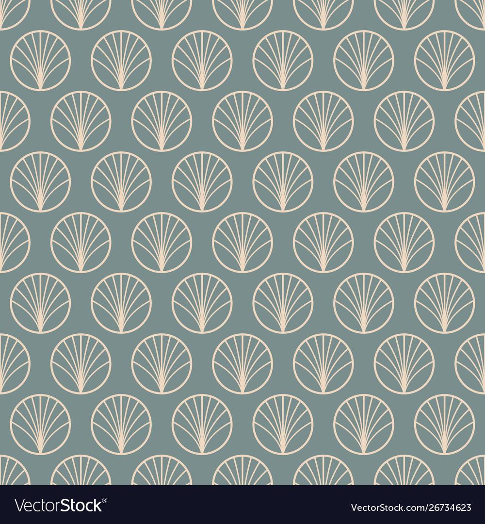 Art deco modern abstract geometric linear pattern