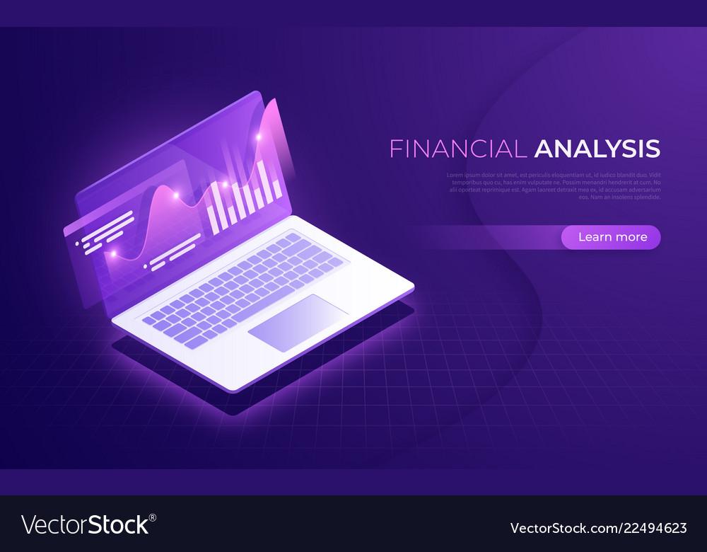 Financial analysis analytics data business