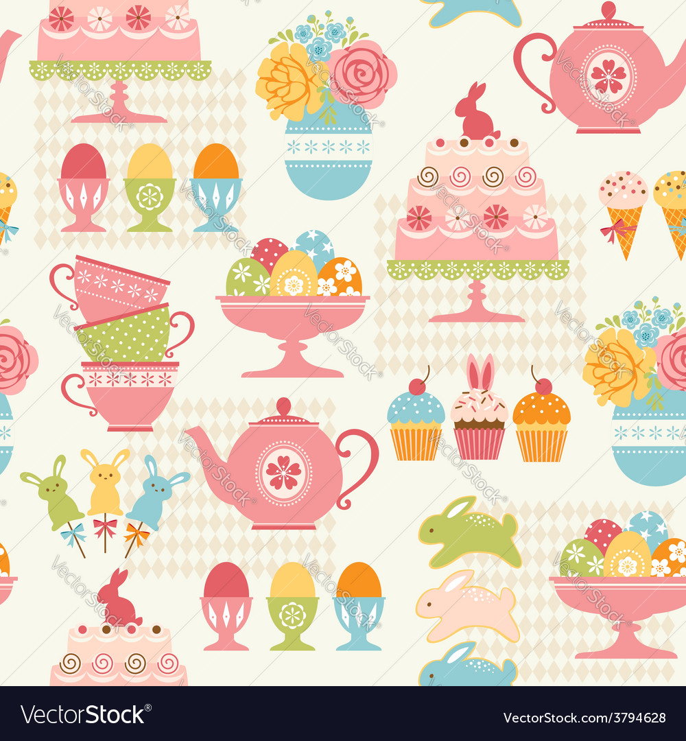Easter party pattern