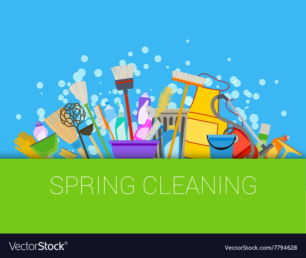 Spring cleaning composition