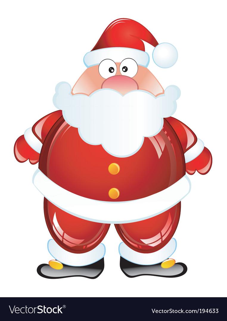 funny santa pictures. Funny Santa Vector