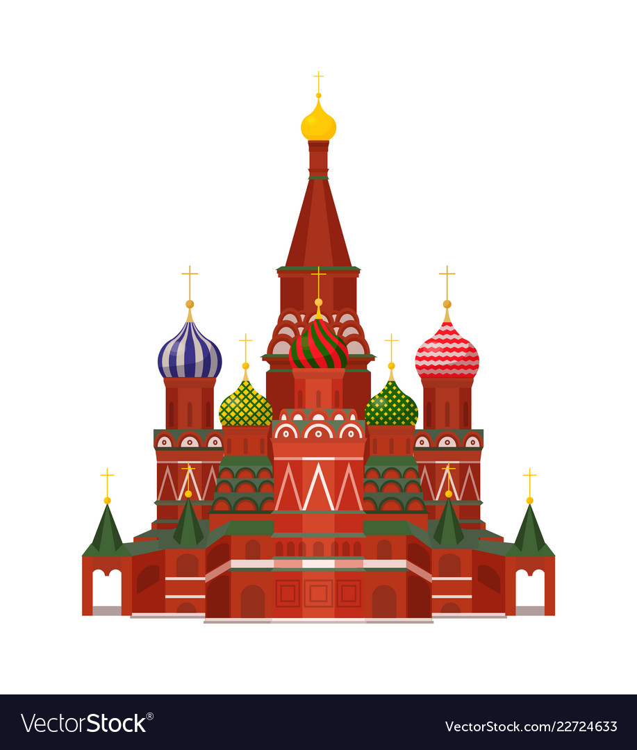 Moscow st basil cathedral