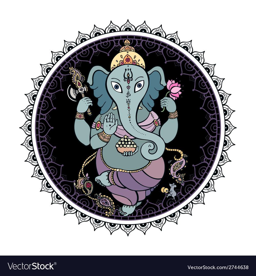 Lord Ganesha Hand drawn