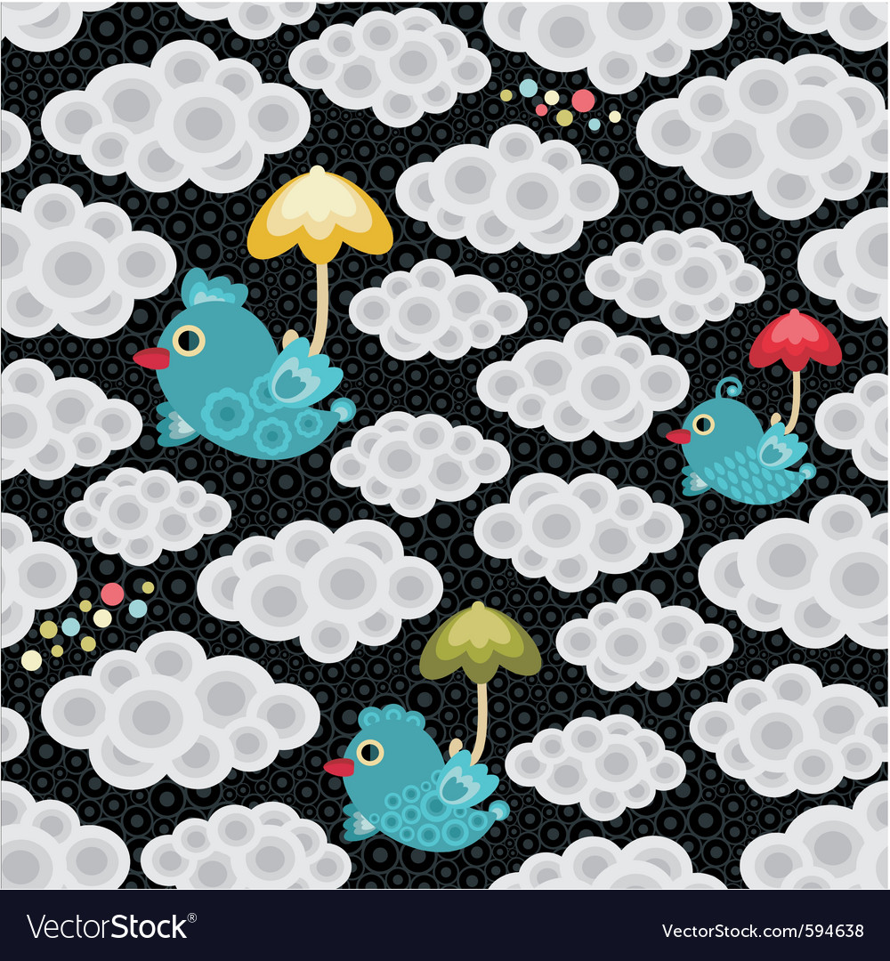 Weather birds pattern