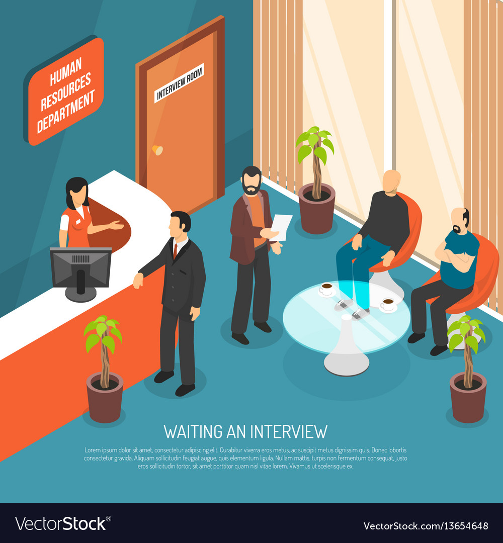 Interview waiting area