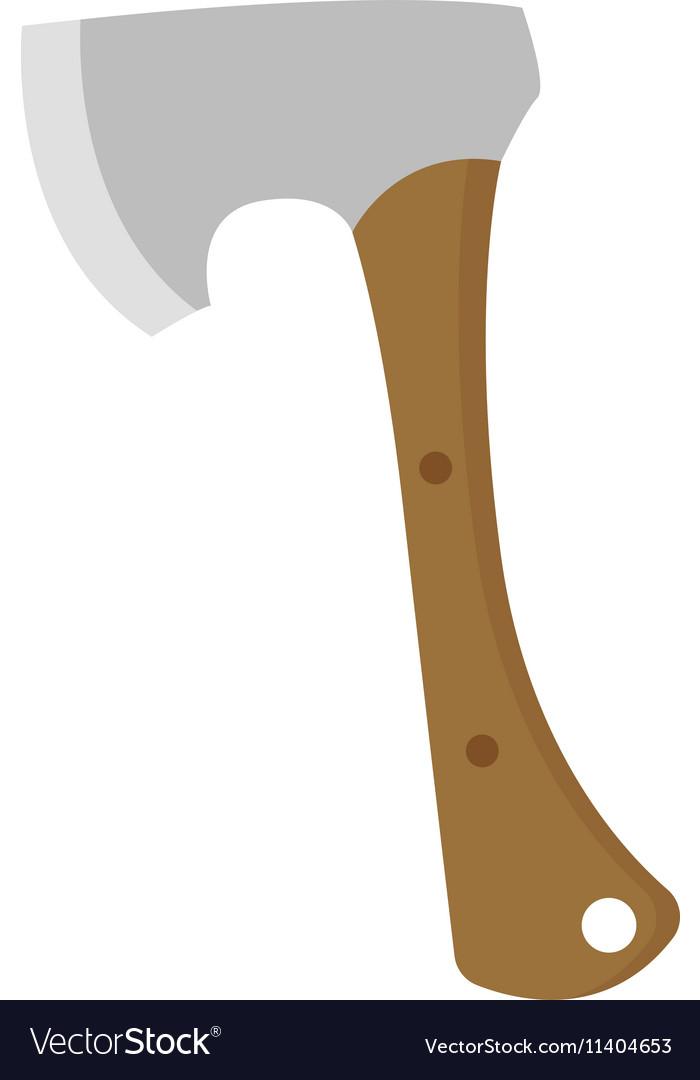 Axe lumberjack isolated icon
