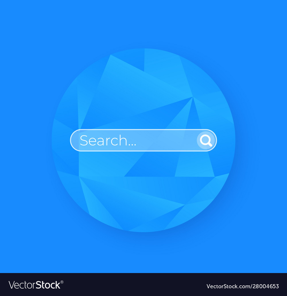 Search bar page ui