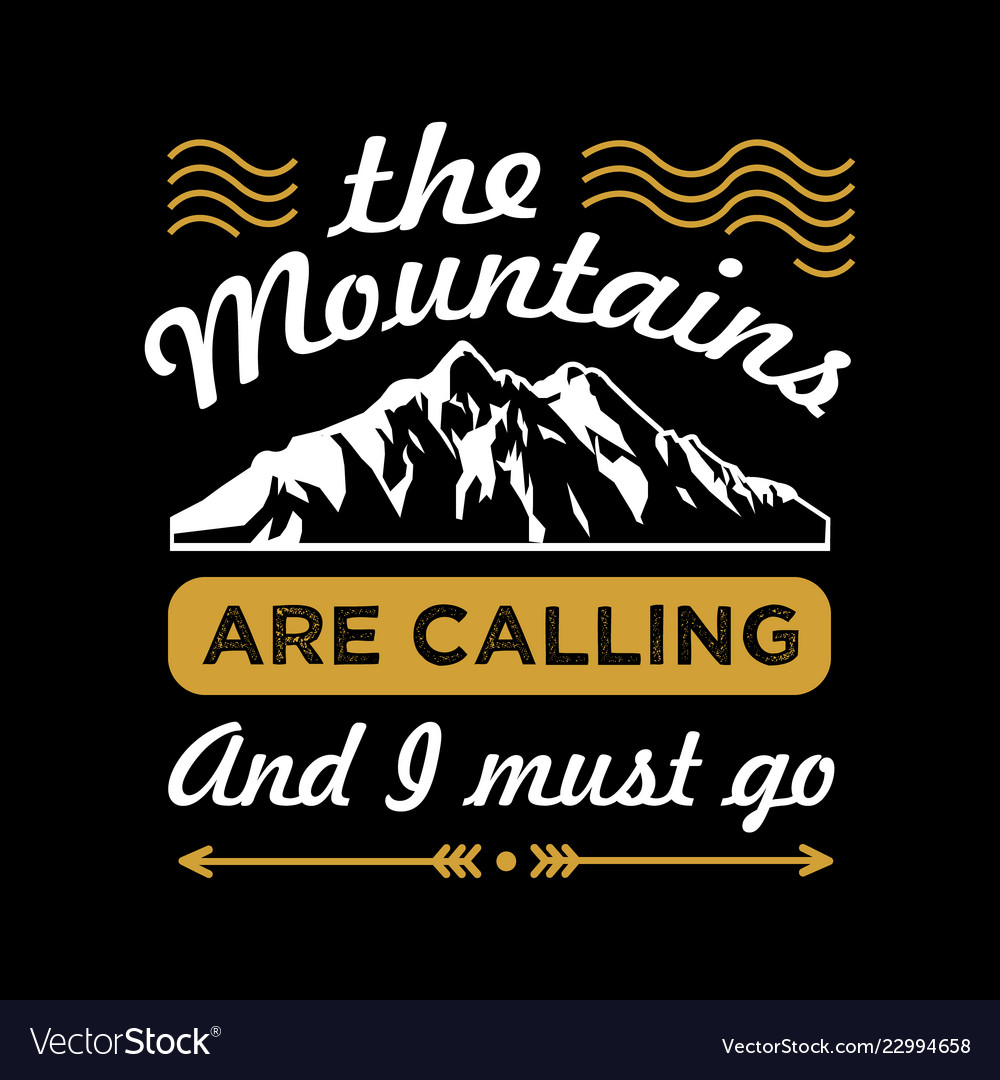 3c0cacaf Adventure funny quote and saying Royalty Free Vector Image