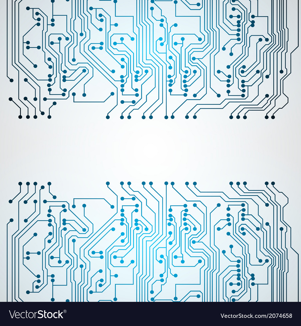 Background With Circuit Board Texture Royalty Free Vector Abstact And Binary Code Stock Images Image
