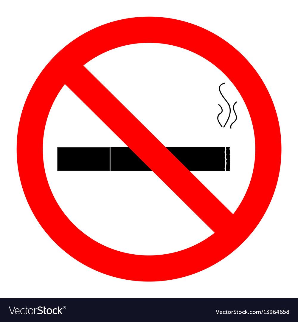 Ban smoking icon