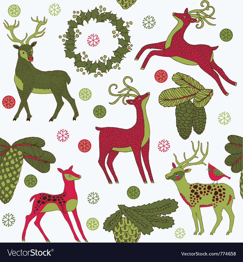 Vintage christmas print for council