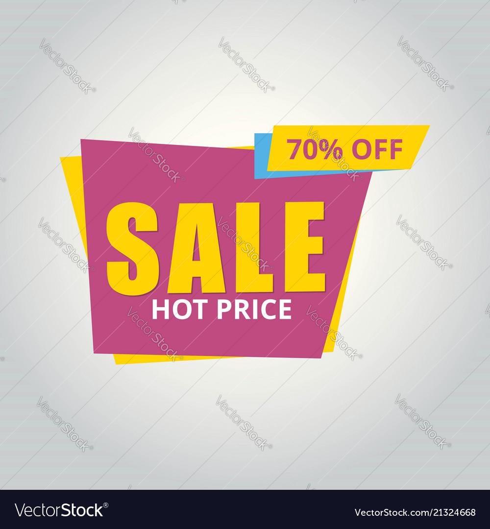 Limited offer mega sale banner sale poster big