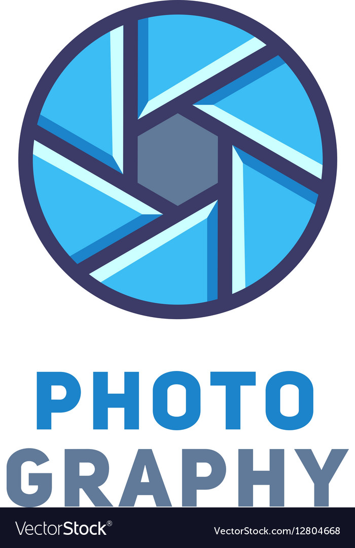 Logo for the photographer