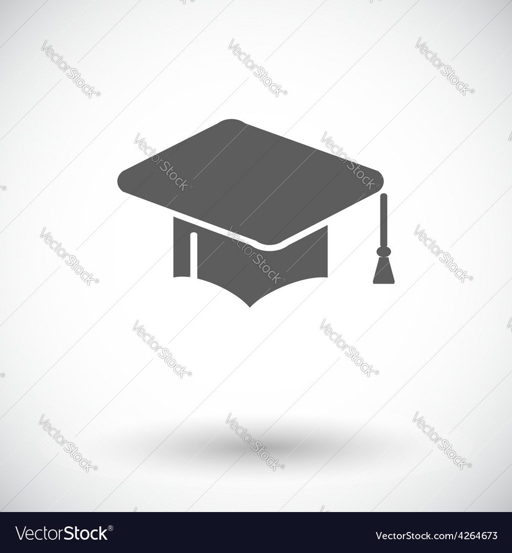 Education flat icon