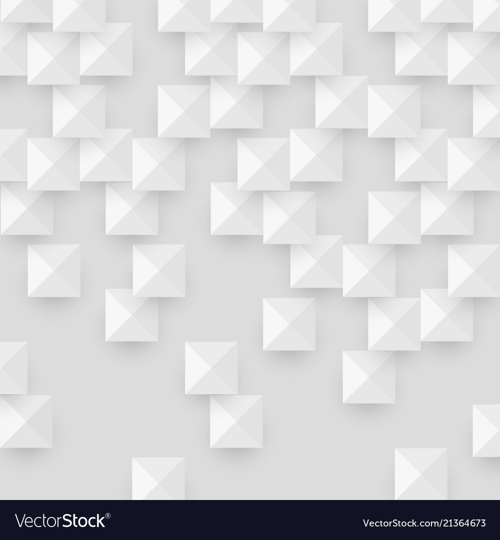 White abstract texture with geometric shape
