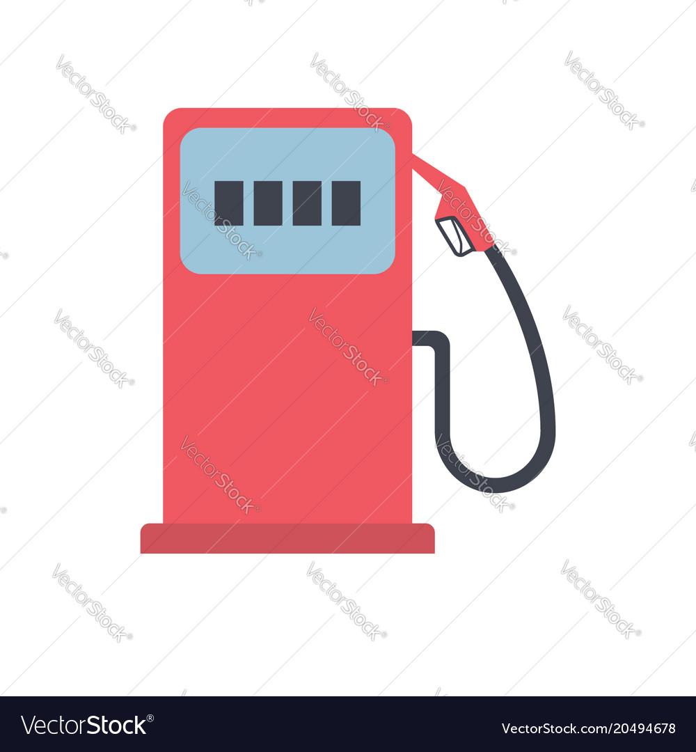Gas station pump icon