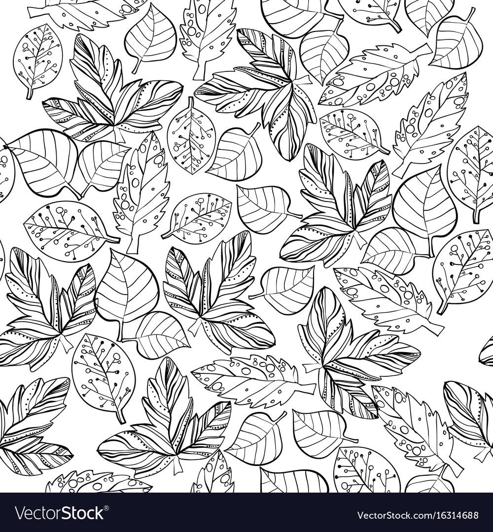 Autumn graphic stylize seamless