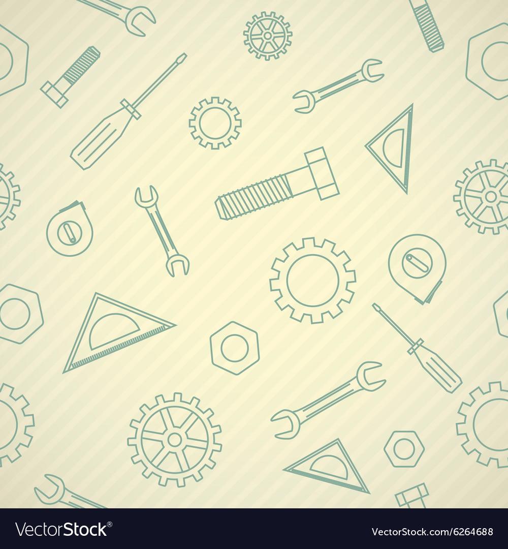 Mechanics icon pattern